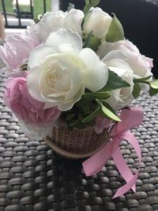 Baby shower flowers